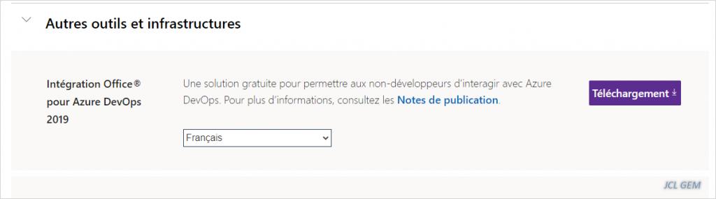 Installer le plugin Azure Devops pour Excel sans Visual Studio